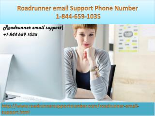 Roadrunner email support phone number: 1-844-659-1035