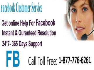 Facebook Customer Service 1-877-776-6261 Just Call  Best Solution  experts advice accessiable