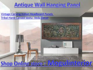 Antique wall hanging panel by Mogulinterior