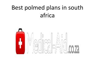 Best polmed plans in south africa