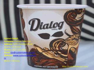 Wholesale Custom Paper Cups in Los angeles