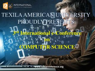 Computer science Conference