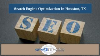Search Engine Optimization In Houston, TX