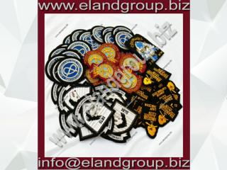 Hand Embroidery Blazer Bullion Badges