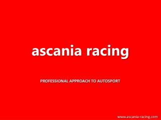 Ascania racing