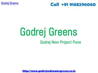 Godrej Greens Undri - Godrej Coming Soon Project At Undri Pune