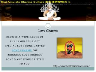 Love Charms, Love Charms