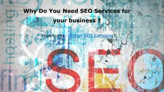 Why Do You Need SEO Services for your business