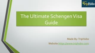 Ultimate Schengen Visa Guide