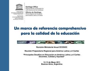 Revisi n Ministerial Anual ECOSOC  Reuni n Preparatoria Regional para Am rica Latina y el Caribe    Principales Desaf os