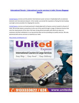 International Re locations Packers & Movers   International Air Freight Cargo