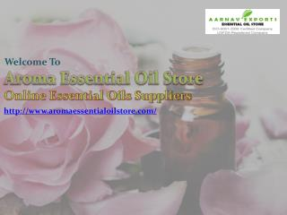 Online Purchess Natural Flower Oils at Aromaessentialoilstore.com