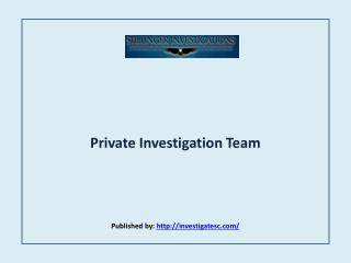 Private Investigation Team