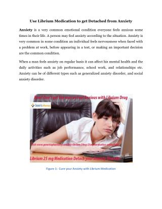 Cure Anxiety Problem with Librium 25 mg Medication