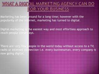 Boost Your Business With Digital Marketing Agency