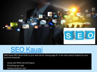 Web Design Kauai