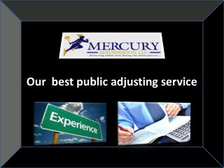 Our Insurance Adjusters
