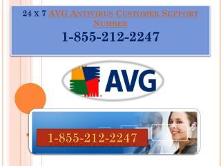 @1-855-212-2247@AVG Antivirus Customer Support Number for PC Tech Solution