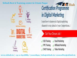 web designing development seo and digital marketing course in uttam nagar