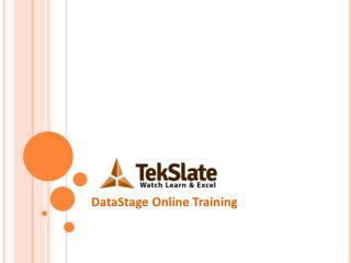 DataStage Professional Online Training