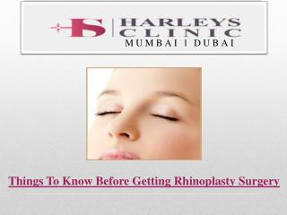 Things To Know Before Getting Rhinoplasty Surgery