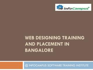 Web Designing training and placement in Bangalore
