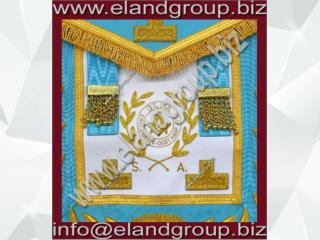 Masonic Fully Hand Embroidered Apron