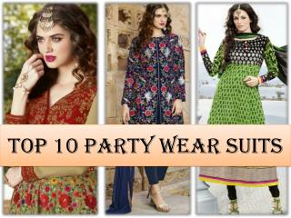 Party Wear Salwar Suits - Deepkalasilk.com