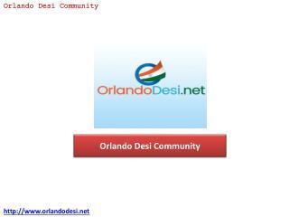 Orlando Desi Community