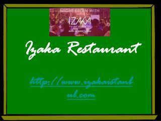 Best Istanbul Restaurants