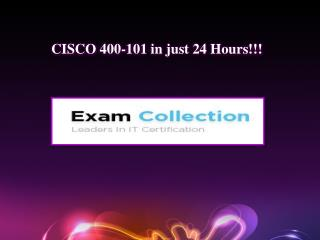 Examcollection 400-101 VCE