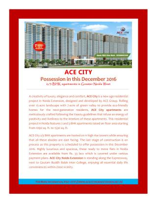 Ace City-Possession in this December 2016