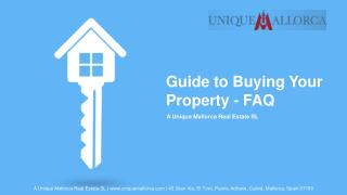 Guide to Buying Your Property - FAQ