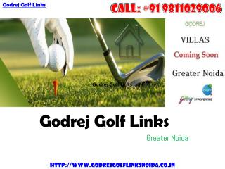 Godrej Golf Links - New Luxury Villas at Greater Noida