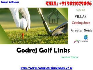 Godrej Golf Links - New Luxury Villas at Greater Noida