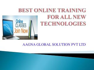 AAGNASOFT ONLINE TRAINING