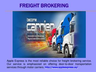Freight Brokering
