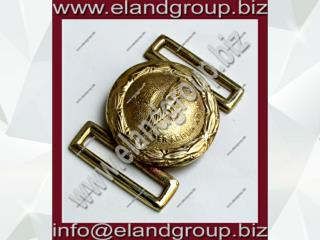 RAF Eagle Brass Belt Buckle