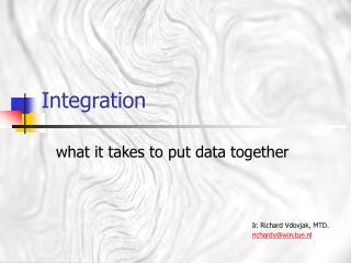 web data integration