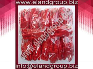 silk red bagpipe drone cords