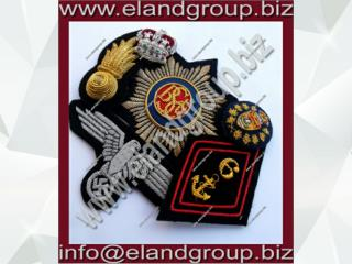 Uniform Blazer Bullion Badges