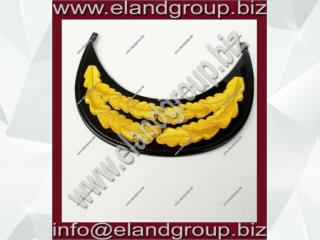Row Gold Bullion RAF Officer's Oak Leaf Peak