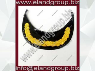 RAF Captain's 1 Row Gold Oak Leaf Peak