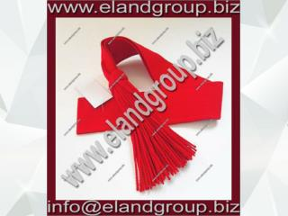 Red Wool Guards Sergeants Sash