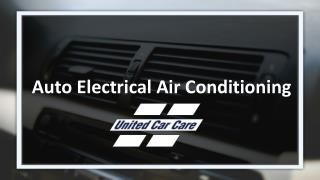 Auto Electrical Air Conditioning
