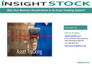 Why Your Business Should Invest in an Asset Tracking System