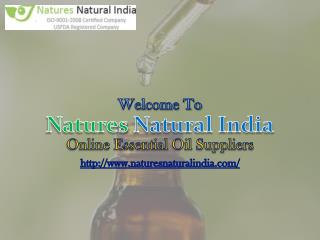 Exclusive Collaction of Carrier and Certified Organic Oils at Naturesnaturalindia.com