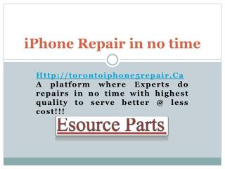 iPhone 5 Screen Repair Mississauga - Toronto iPhone 5 Repair