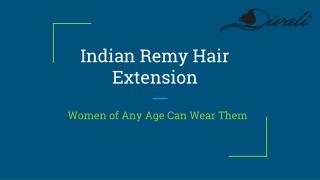 Natural and Top Virgin Remy Hair Extensions