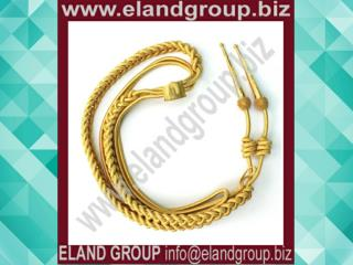 Aiguillette Gold Mylar Cord for Army